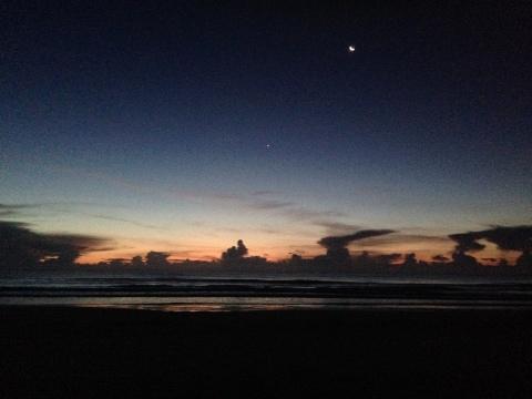Ocean & Moon
