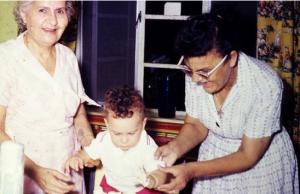 Grandmas and me